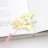 【03088】 櫻花金屬鏤空書籤 文具 開學文具 頁籤 古典中國風 辦公文具