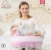 哺乳枕頭喂奶神器哺乳枕頭護腰喂奶枕坐月子神器懶人椅墊抱娃嬰兒趟喂橫抱lx 聖誕節