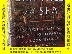 二手書博民逛書店Empires罕見of the sea - the siege of Malta, the battle of l