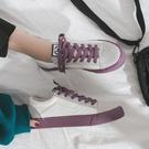新品小白帆布鞋子女網紅學生正韓潮鞋夏春款板鞋春秋百搭春季