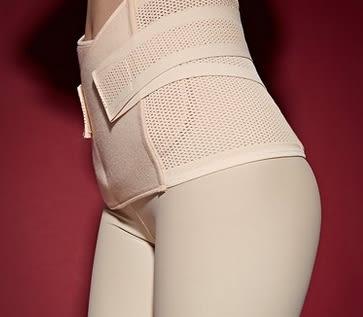 中型中款背部調節鬆緊粘美體腰封-mov10012
