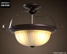 INPHIC- 美式圓形吸頂燈大氣歐式創意復古簡約鐵藝臥室陽臺過道頂燈_S197C