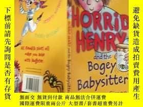 二手書博民逛書店horrid罕見henry and the bogey babysitter .可怕的亨 利和那個可怕的 保 姆.