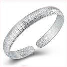 百搭時尚流行鍍銀手鐲 開口百福子手環手飾品s125