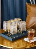 居家創意瀝水架杯子收納客廳玻璃杯倒掛杯架【櫻田川島】