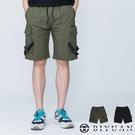 【OBIYUAN】工裝短褲 韓國製 抗撕裂 素面 多口袋 五分褲 工作褲 共2色【BSD119】