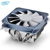 CPU散熱器九州風神加百利ITX/M-ATX CPU散熱器 mini風扇靜音超款小機箱HTPC 電購3C