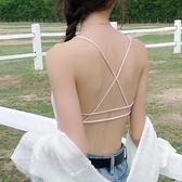 【Charm Beauty】美背 吊帶 網红 爆款 小背心女 學生 内衣 性感夏 文胸 聚攏 打底 裹胸 抹胸式