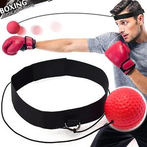 頭戴式拳擊速度球+頭帶.拳擊彈力球訓練球.發洩球回力球魔力球拳速球.手眼協調反彈球快速反應球