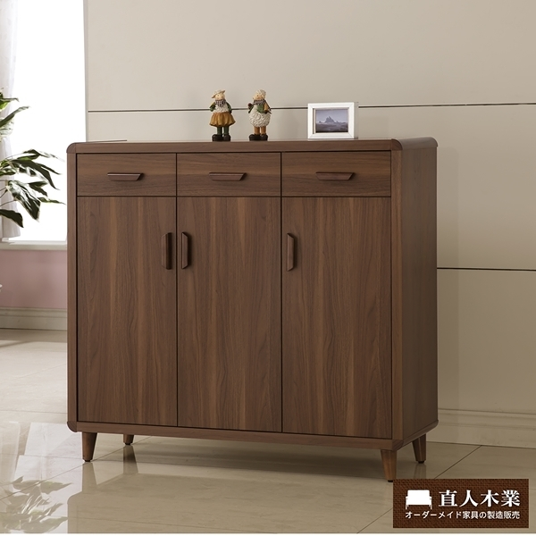 日本直人木業-wood北歐生活120CM鞋櫃