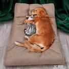 狗窩沙發背靠可拆洗睡覺的墊子狗狗床寵物冬天保暖金毛大型犬用品 3C優購