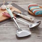 家用廚具七件套全套不銹鋼鍋鏟勺子湯勺漏勺炒菜炊具 XH1371『伊人雅舍』