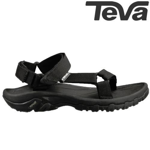 TEVA 熱銷《女款》經典織帶水陸機能運動涼鞋Hurricane XLT - 黑