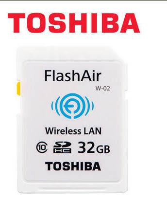 TOSHIBA FlashAir SDHC 32G C10 WiFi 無線傳輸記憶卡 新禾公司貨