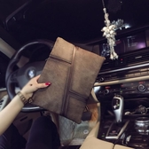 男手拿包  新款復古韓版男女士手拿包商務休閒潮流手抓包 信封包文件包潮包