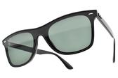 RayBan 太陽眼鏡 RB4440NF 60171 (黑-綠鏡片) 經典配色方框款 # 金橘眼鏡