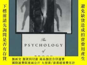 二手書博民逛書店The罕見Psychology Of ProofY380406 Lance J Rips Mit Press
