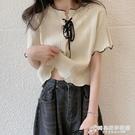 短袖T恤女裝夏季2021新款chic港味設計感小眾高腰短款上衣服ins潮 時尚芭莎