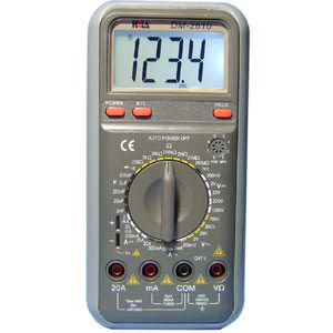 HILA 3 1/2多功能數字電錶 True Rms DM-2610