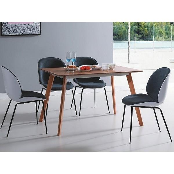 餐桌 CV-748-3 富田木紋色餐桌 (不含椅子) 【大眾家居舘】