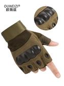 戰術手套男半指夏季特種兵健身訓練運動戶外防滑耐磨透氣機車登山(快速出貨)