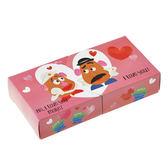 【京之物語】日本迪士尼代購日本製情人節蛋頭先生與蛋頭太太盒裝巧克力禮盒-預購商品