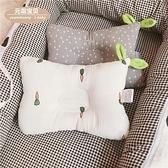 兒童定型枕 純棉紗布嬰兒枕頭0-1歲糾正偏頭初生寶寶定型枕防偏頭新生兒枕頭 WW