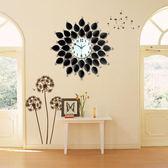 歐式創意掛鐘 歐式客廳掛鐘現代創意鐘錶臥室藝術時鐘時尚裝飾掛錶靜音個性大號  jy