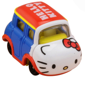 TOMICA Dream TM三麗鷗家族 HELLO KITTY TM13390-1夢幻迪士尼小汽車