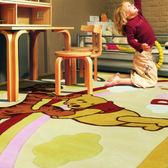 【范登伯格進口地毯】迪士尼☆手工立體剪花地毯/門墊/踏墊/玄關墊/床邊毯-維尼熊-140x200cm