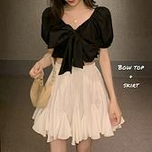 不規則半身裙女2021夏季新款韓版白色蓬蓬裙網紅設計感高腰短裙 【夏日新品】