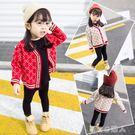 女童毛衣韓版童裝春兒童全棉卡通百搭寶寶針織衫開衫外套