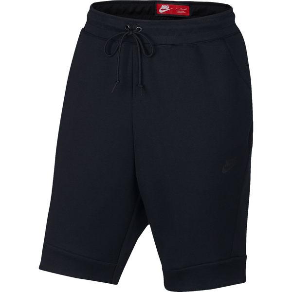 NIKE 2016 新款 Tech Fleece  全黑 短棉褲 (布魯克林) 2016/8月 805161-010