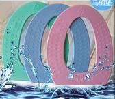 泡沫坐便墊黏貼式防水隔涼保暖馬桶坐墊衛生間加厚馬桶墊子坐便套「韓風物語」