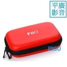 平廣 配件 FiiO HS7 紅色 收納盒 盒 拉鍊 收納包 攜行包 可以 收納 藍芽器 BTR5 M6 隨身聽 耳擴