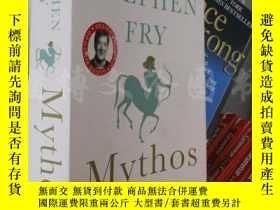 二手書博民逛書店Mythos【大32開罕見英文原版】Y16472 Stephen Fry Thomas Rap ISBN:97