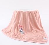 兒童毛毯 巴布豆毛毯雙層加厚春季兒童蓋毯被子新生寶寶幼兒園午睡毯【快速出貨八折下殺】