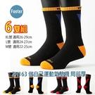 Footer 除臭襪 ZH163 M號 L號 XL號 做自己運動氣墊襪 局部厚 6雙超值組