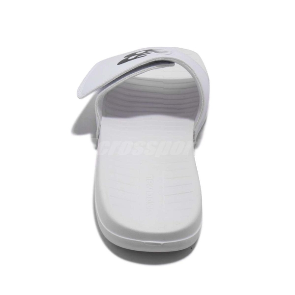 New Balance 拖鞋 NB 230 白 黑 基本款 黑白 夏日百搭款 魔鬼氈 男鞋 女鞋【ACS】 SD230WTD