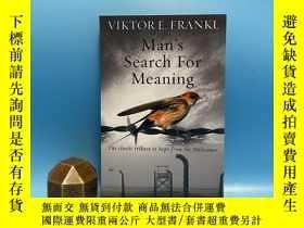 二手書博民逛書店Man s罕見Search For Meaning-對意義的追尋Y437128 Viktor E Frankl