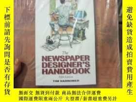 二手書博民逛書店Newspaper罕見Designer s Handbook w