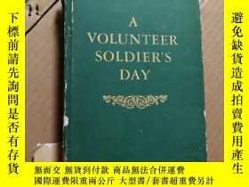 二手書博民逛書店志願軍一日罕見選本 英文版《A VOLUNTEER SOLDIE