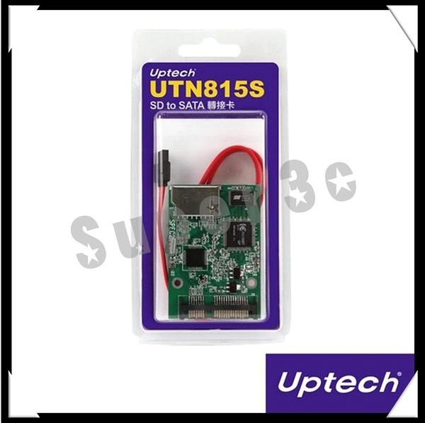 新竹【超人3C】Uptech UTN815S SD to SATA 轉接卡 支援使用SD和SDHC記憶卡