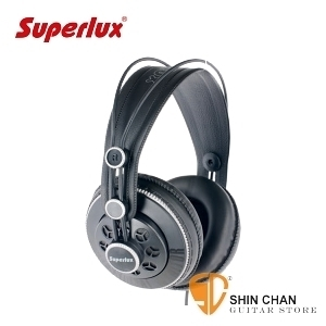 Superlux HD681B  半開放式專業監聽耳機 動圈式 HD-681B (灰色)   頭戴式/耳罩式