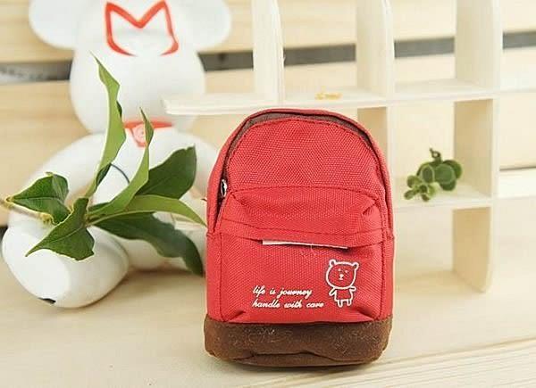 【發現。好貨】((最新商品超低價)) 小熊後背包造型零錢包 收納包