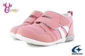 Moonstar月星 HI系列 3E寬楦 寶寶運動鞋 小童 輕量 日本機能鞋 I9617#粉紅◆OSOME奧森童鞋