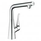 【麗室衛浴】 德國 HANSGROHE Metris Select系列 14883 000 廚房按鍵開關龍頭