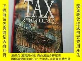 二手書博民逛書店英文原版罕見稅收指南 Tax Guide by Michael