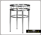 {{ 海中天休閒傢俱廣場 }} C-99 摩登時尚 餐桌腳系列 485-23 同心餐桌腳/電鍍腳