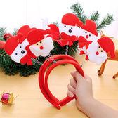 【BlueCat】紅色聖誕雙彈簧跳跳飾品髮箍